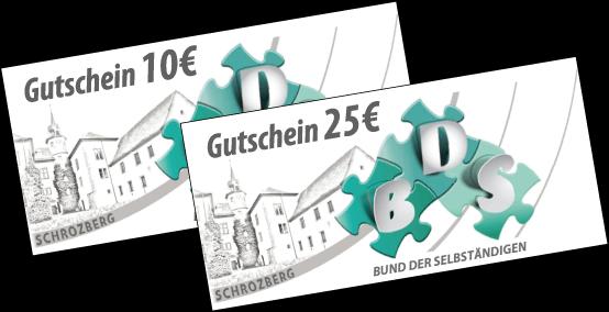 Gutscheine BDS Schrozberg