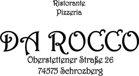 Logo Pizzeria Da Rocco